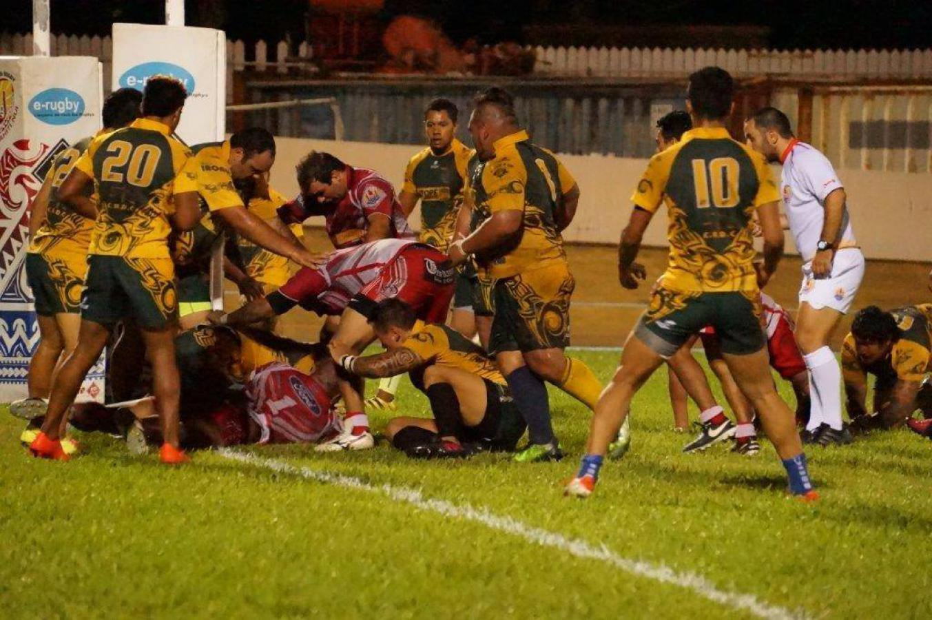 Papeete Rugby Club vs Faa'a Rugby ARO