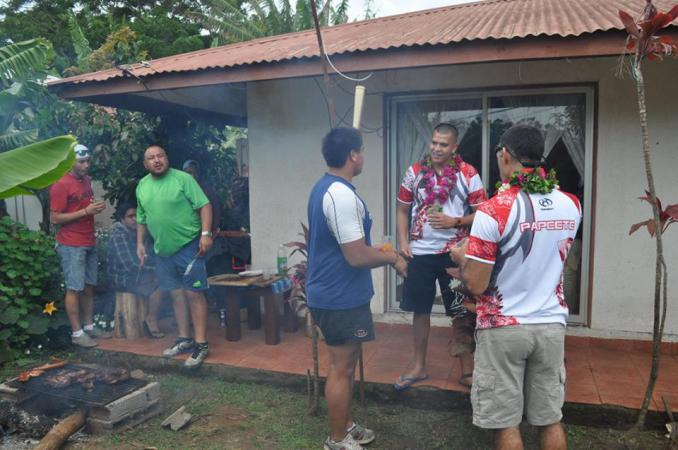 Barbecue chez coach Carlos