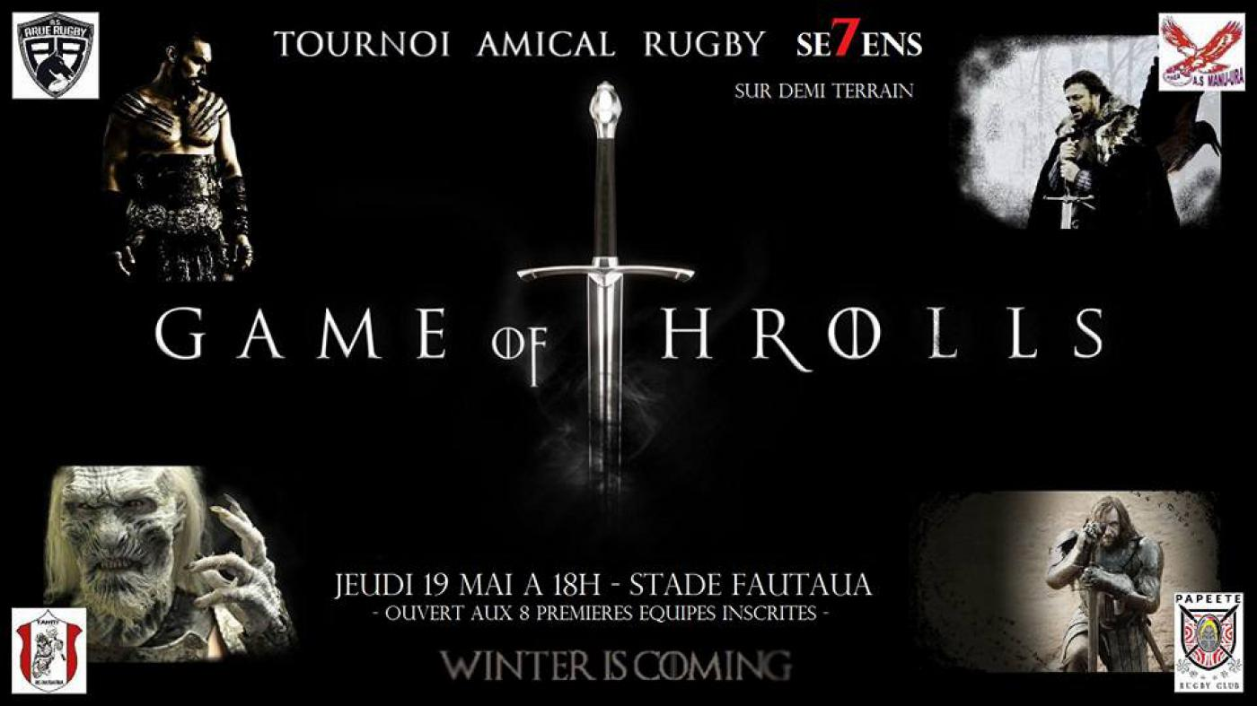 Premier tournoi Game of Throlls